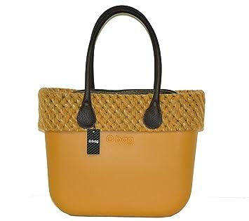 O Bag Grande Amarillo Narciso con asas largos bordo y bolsa: Amazon.es: Deportes y aire libre