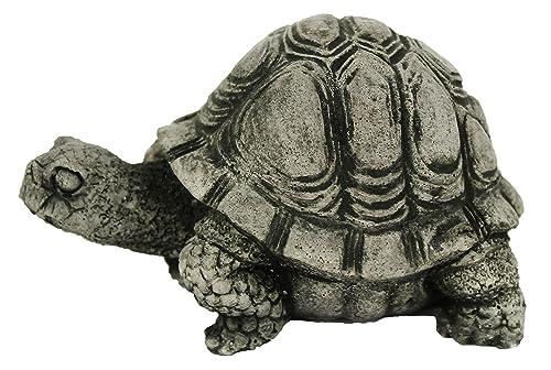 Fleur de Lis Garden Ornaments LLC Small Turtle Concrete Statue