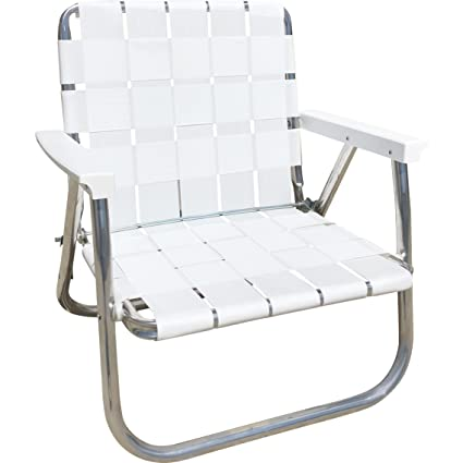 Stupendous Lawn Chair Usa Aluminum Webbed Chair Low Back Beach Chair Bright White Download Free Architecture Designs Scobabritishbridgeorg
