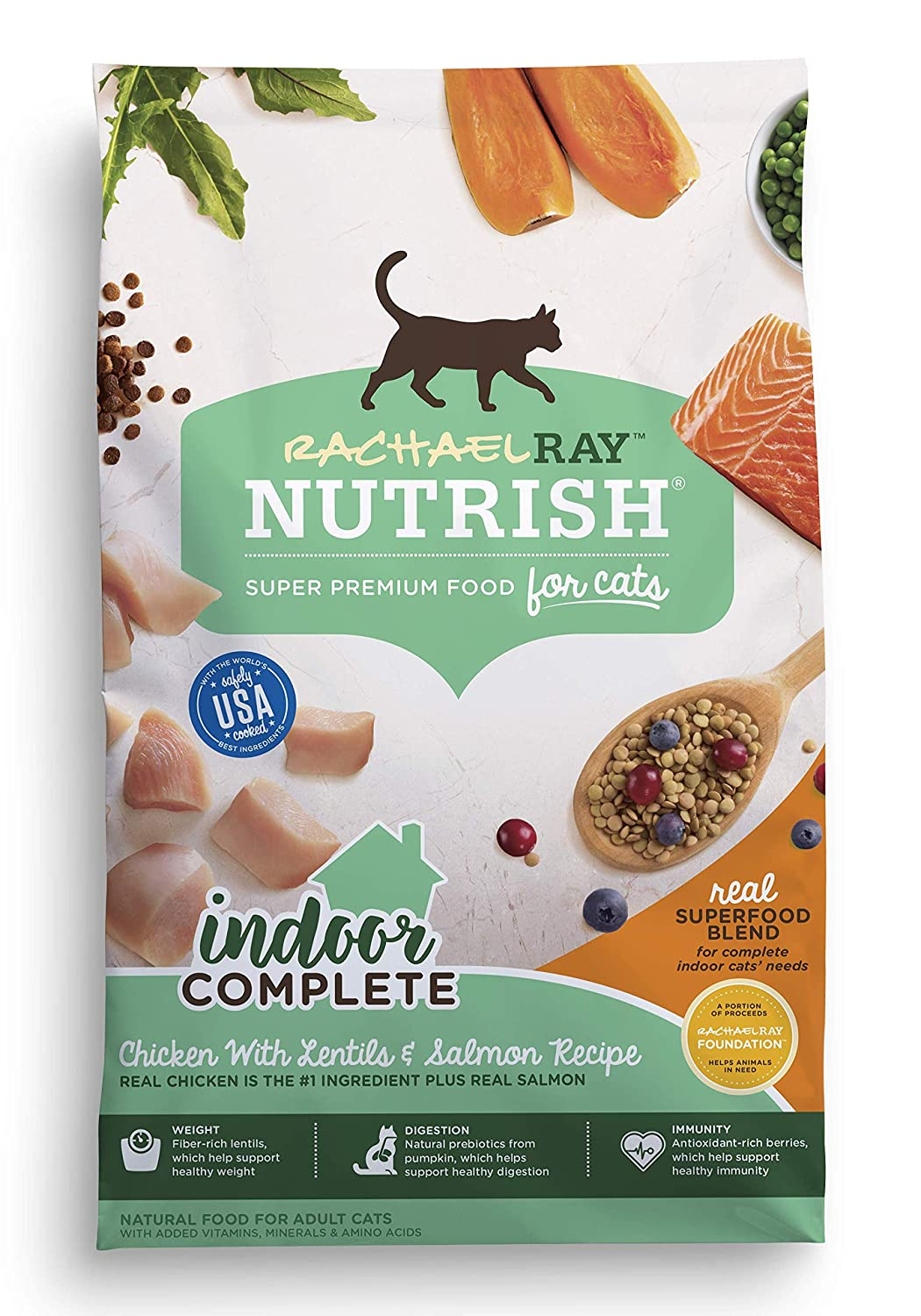 Rachael Ray Nutrish Indoor Complete Dry Cat Food
