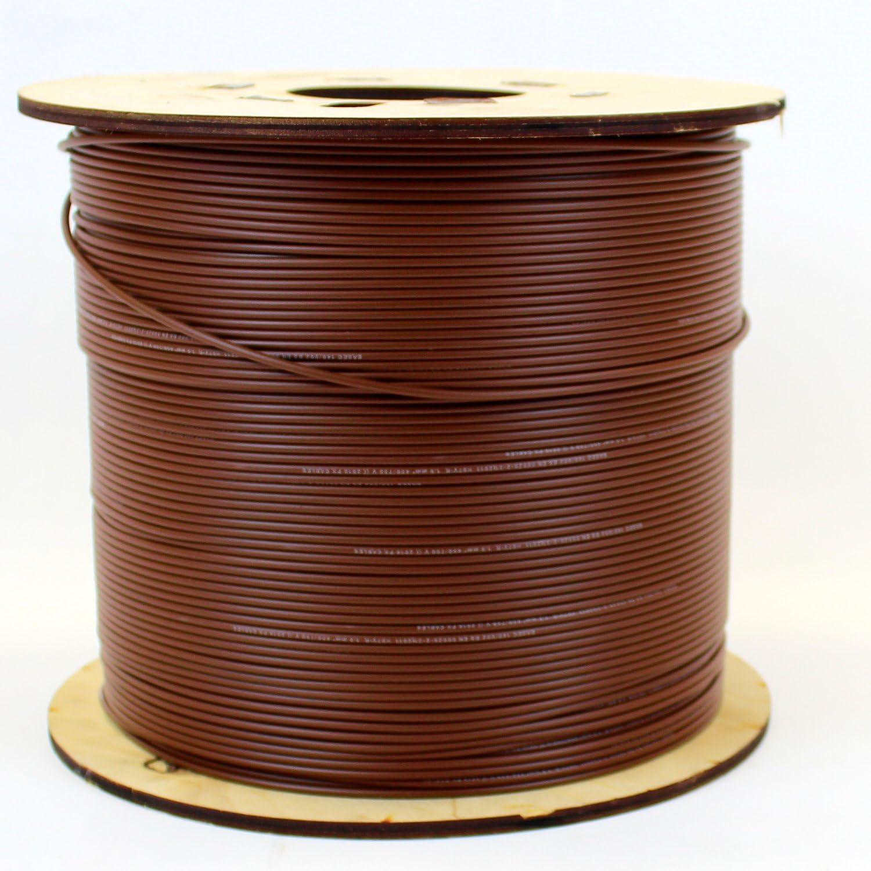 Rouleau complet ou diverses tailles disponibles marron neutre C/âble mono-conducteur 6491X de 6/mm jaune et vert terre Bleu vif