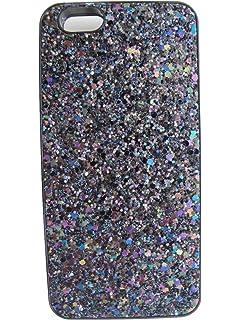 meet 2efcb 12bd1 Amazon.com: Victoria's Secret Black Sparkle Hard Case Mirror Card ...