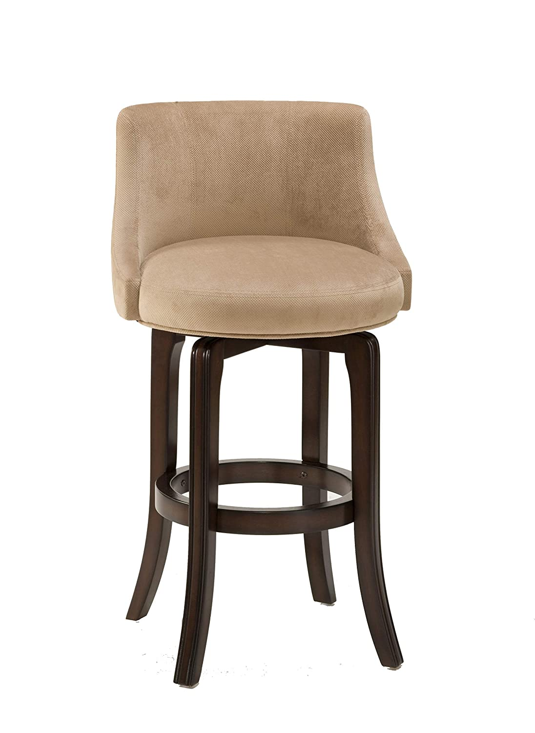 Swell Hillsdale Furniture Napa Valley Upholstered Swivel Bar Stool Khaki Caraccident5 Cool Chair Designs And Ideas Caraccident5Info