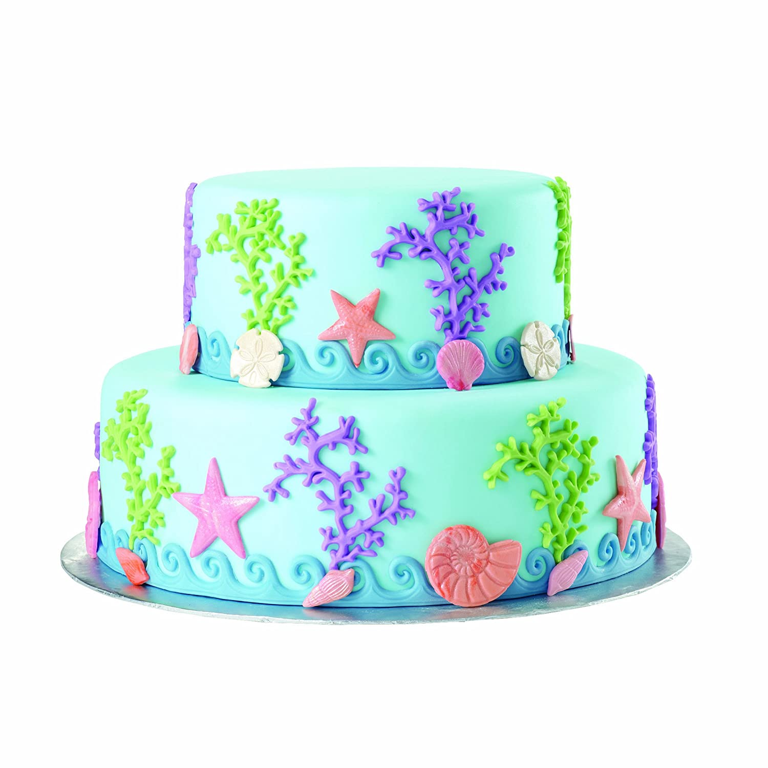 sealife-theme-mold-fondant