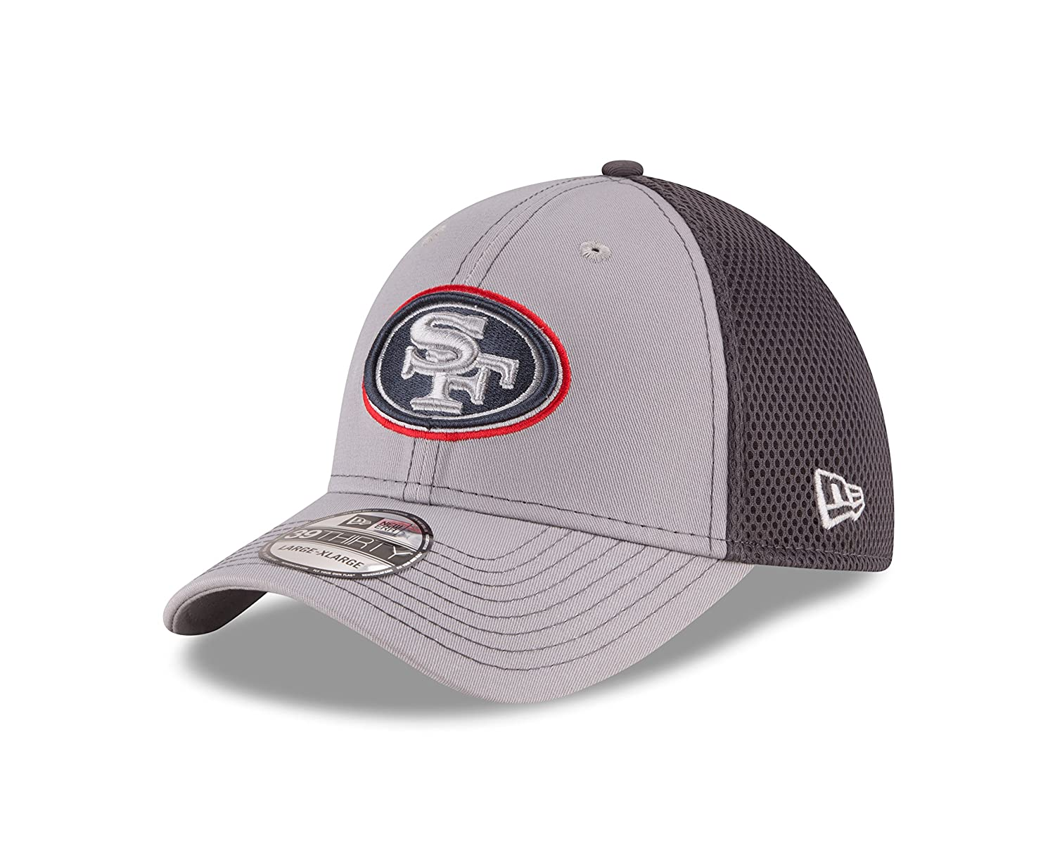 various colors de143 b089f Amazon.com   NFL Grayed Out NEO 2 39THIRTY Stretch Fit Cap   Clothing