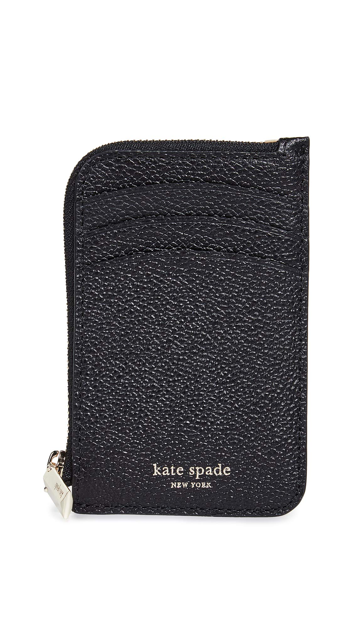 Kate Spade New York Women's Margaux Zip Card Holder, Black, One Size by Kate Spade New York
