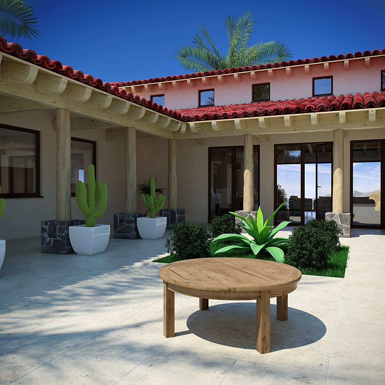 Amazon modway marina outdoor patio teak side table kitchen amazon modway marina outdoor patio teak side table kitchen dining geotapseo Choice Image