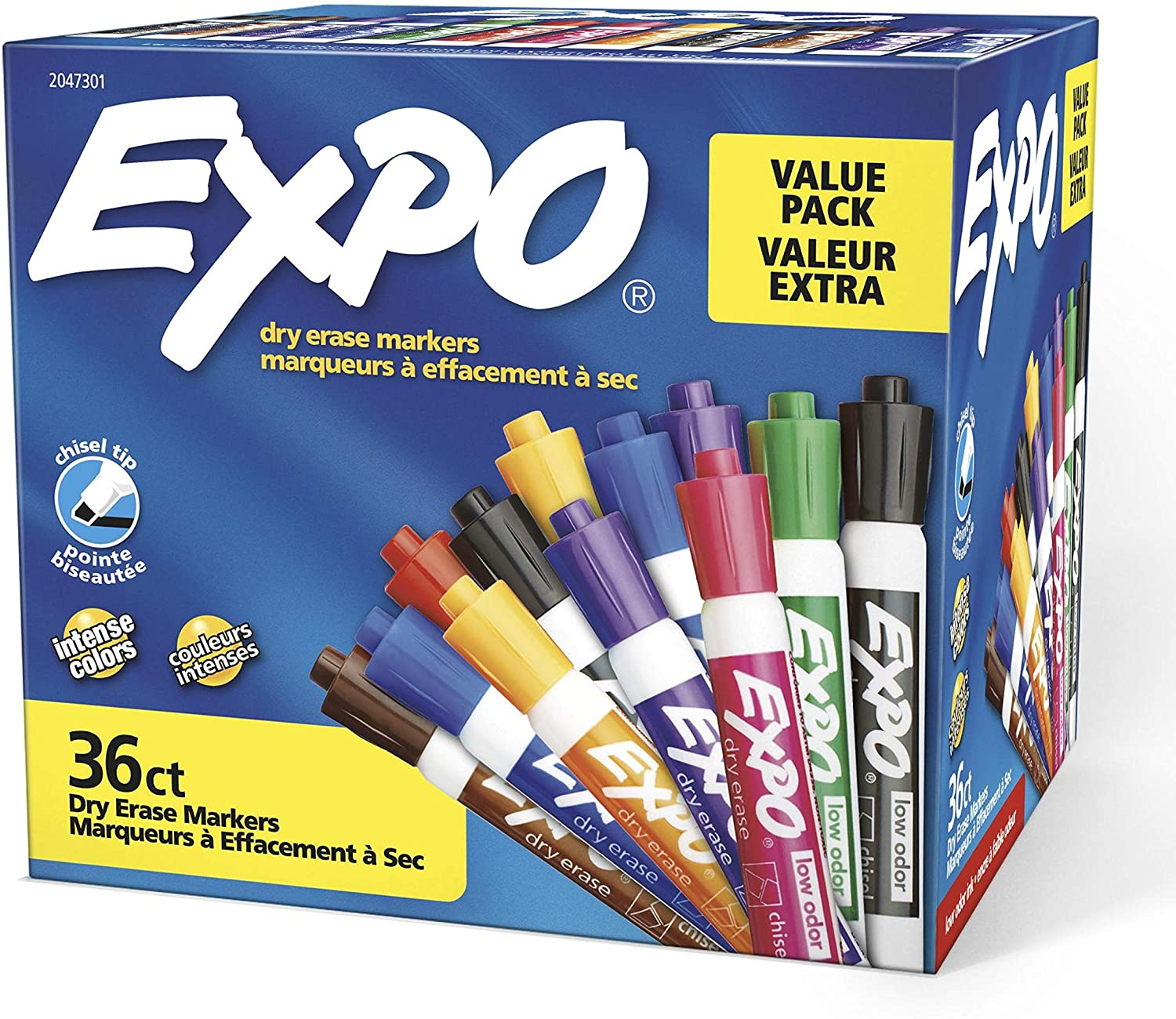EXPO 36 Pack Dry Erase & Wet Erase Markers $22.22 Coupon
