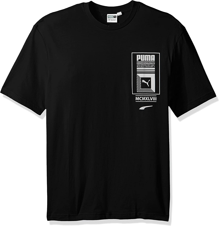 PUMA Mens Logo Tower T-Shirt
