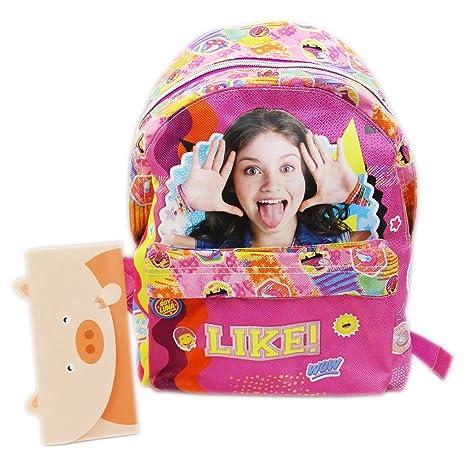 Disney Soy Luna Smile Bolso Escolar por Niña Guarderìa Escuela