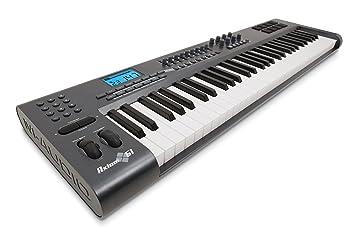 Pinnacle Axiom 61 - Teclado MIDI (USB, 5,3 kg, Pentium 3, 800 MHz, ...
