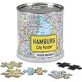 City Puzzle Magnets - Hamburg von Extragoods