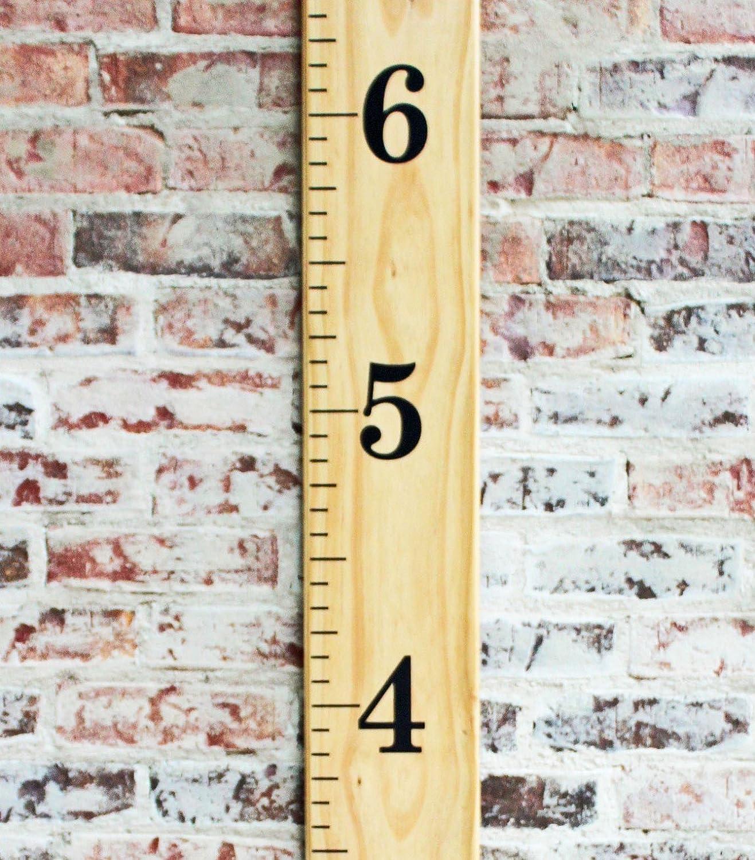 Little Acorns DIY Vinyl Growth Chart Ruler Decal Kit Jumbo Numbers