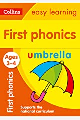 First Phonics Ages 3-4: Prepare for Preschool with easy home learning (Collins Easy Learning Preschool) Kindle Edition