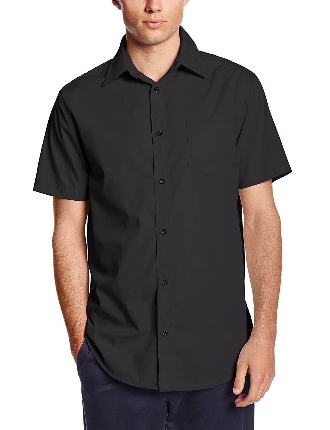 Lee Uniforms Mens Short Sleeve Dress Shirt At Amazon Mens Clothing
