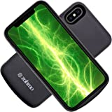 iPhone X Battery Case   Slimmest Rechargeable Backup Charging Case for Apple 10 Phone   Best iPhone X Charger & Accessory for Extended Portable Power Pack Cases   3,000 mAh   100% Recharge by Zohmo