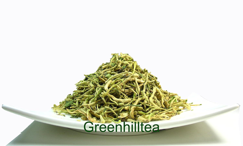 Greenhilltea traditional health herbs, Honey suckle dried herbal tea honeysuckle 5 OZ