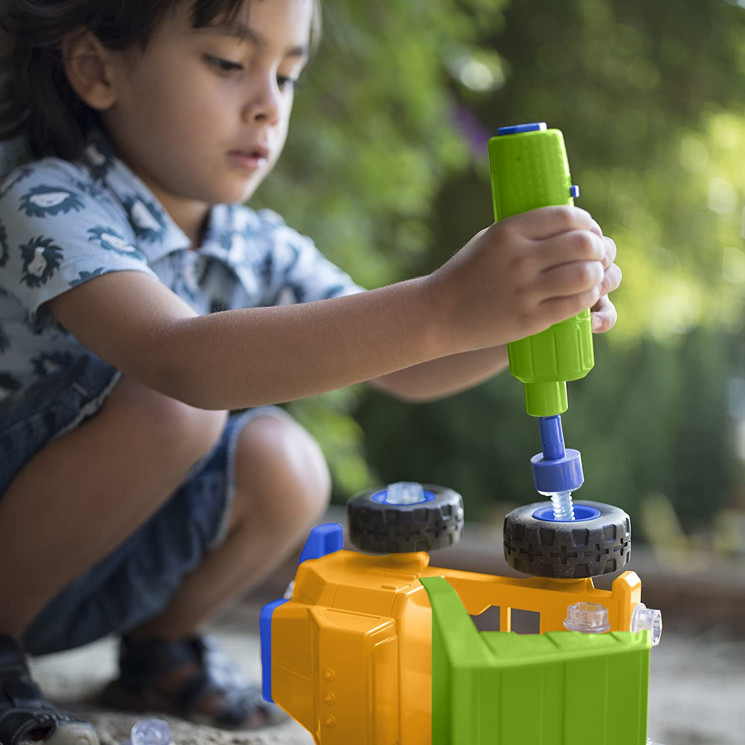 Learning Resources Design and Drill Power Play Vehicles Dump Truck