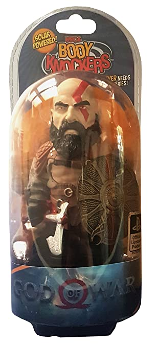 Kratos God Of War 2018 Body Knocker Bobble Head Funko Toys