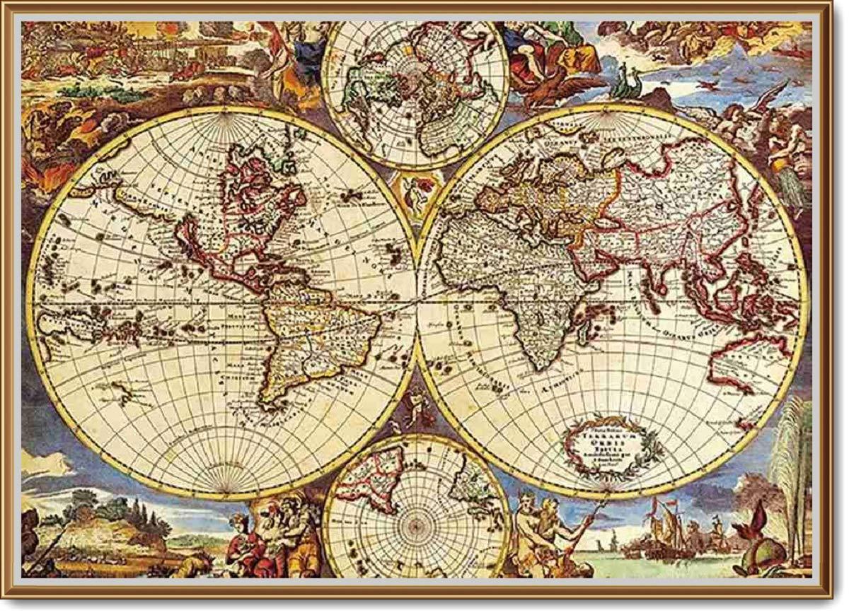 一番の 1000 Adults Pcs Pcs World Map Map Jigsaw Puzzles Intellectual Games for Adults and Kids B07999J7KF, ProShop伊達:03314d18 --- a0267596.xsph.ru