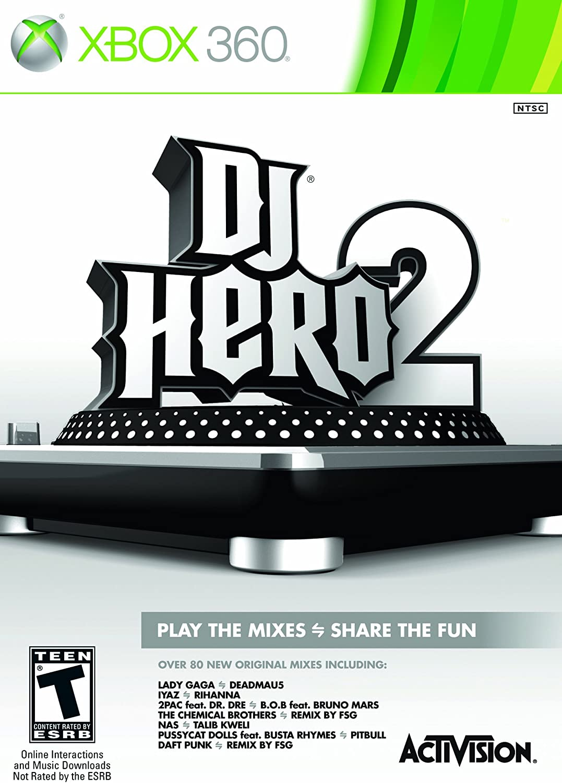 Amazon com: Dj Hero 2 Software - Xbox 360 (Stand-Alone Software