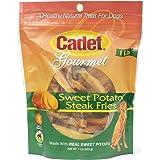 Cadet Sweet Potato Dog Treat Steak Fries; 1 lb.