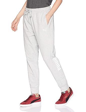 901d2f0d0df Puma - Pantalon de survêtement de Sport Moderne pour Femme  Amazon.fr   Vêtements et accessoires