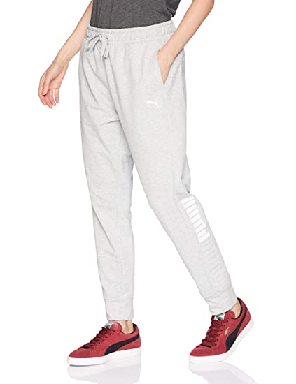 ca1f6b35c9b8 Puma Women s Modern Sport Track Pants Light Gray Heather Small 27 27