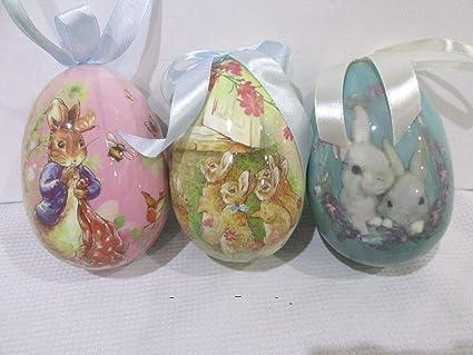 Amazoncom Thaisan7 Set Of 3 Primitive Vintage Style Easter Large