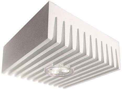 Philips 69068/31/86 7.5-Watt Ledino Ceiling Light (White and Aluminium) Ceiling Lights at amazon