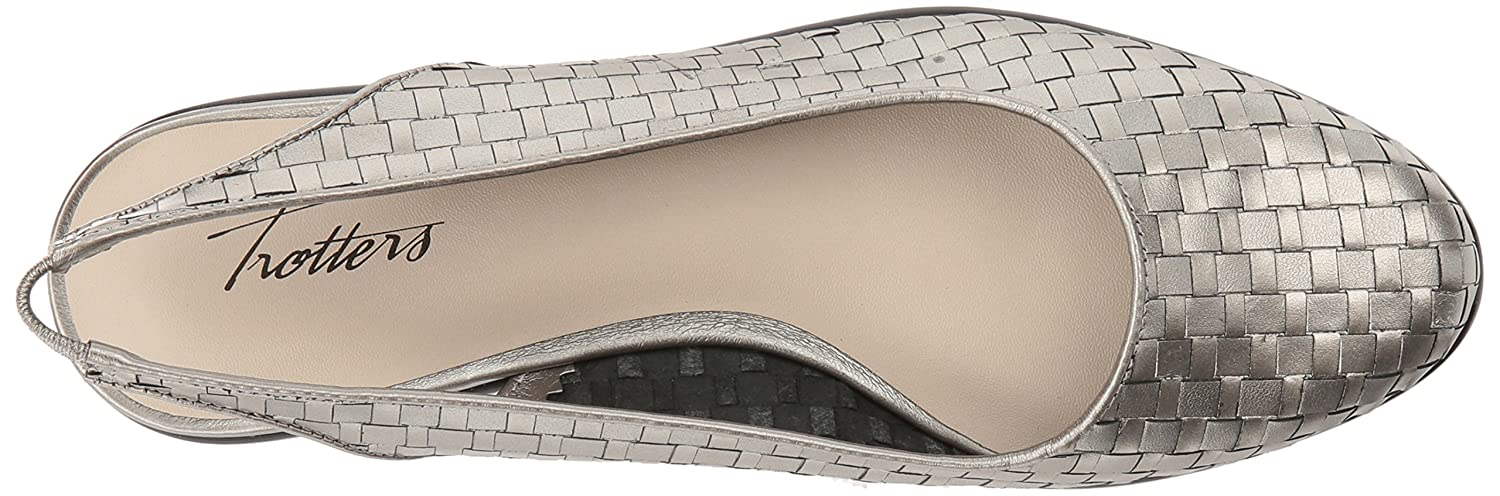 Trotters B01HMY8VYI Women's Lucy Ballet Flat B01HMY8VYI Trotters 8.5 W US|Pewter adba8c