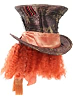 Alice In Wonderland Movie - Mad Hatter Hat with Hair Adult
