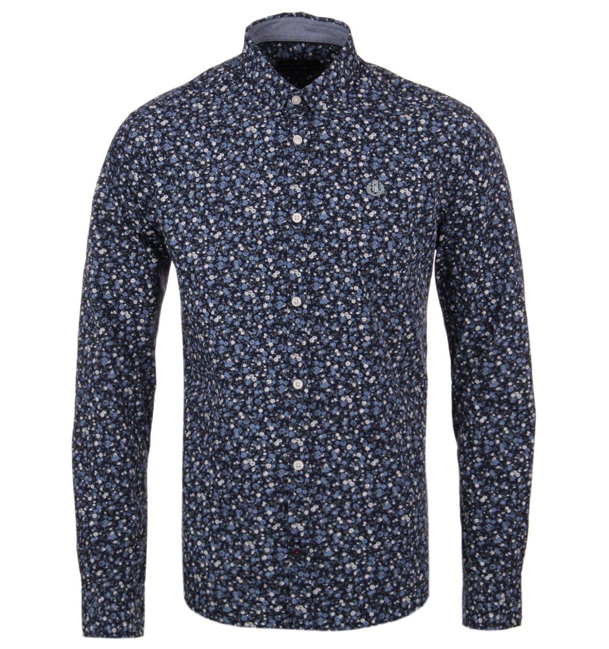 ventas al por mayor XL Henri Lloyd Varfell Navy Navy Navy Floral Long Sleeve Shirt-EXTRA LARGE  lo último