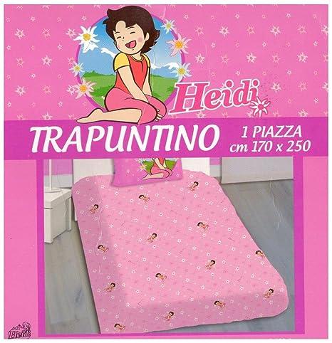 Russo Tessuti Trapuntino Copriletto Trapunta Stampa Letto Singolo 1 Piazza Minions Azzurro