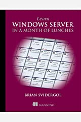 Learn Windows Server in a Month of Lunches Capa comum