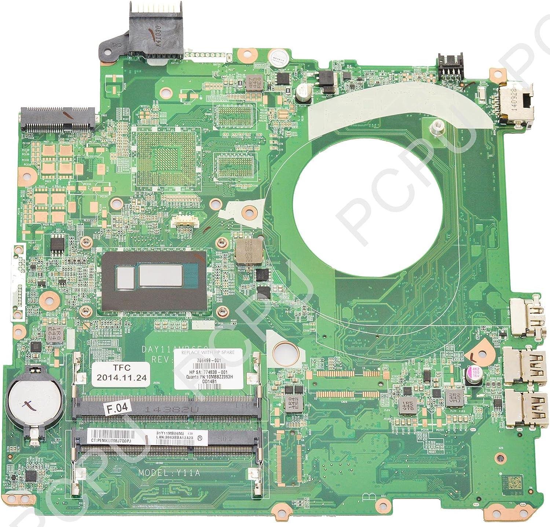 766469-001 HP Pavilion 15-P Laptop Motherboard w/Intel i5-4210U 1.7GHz CPU