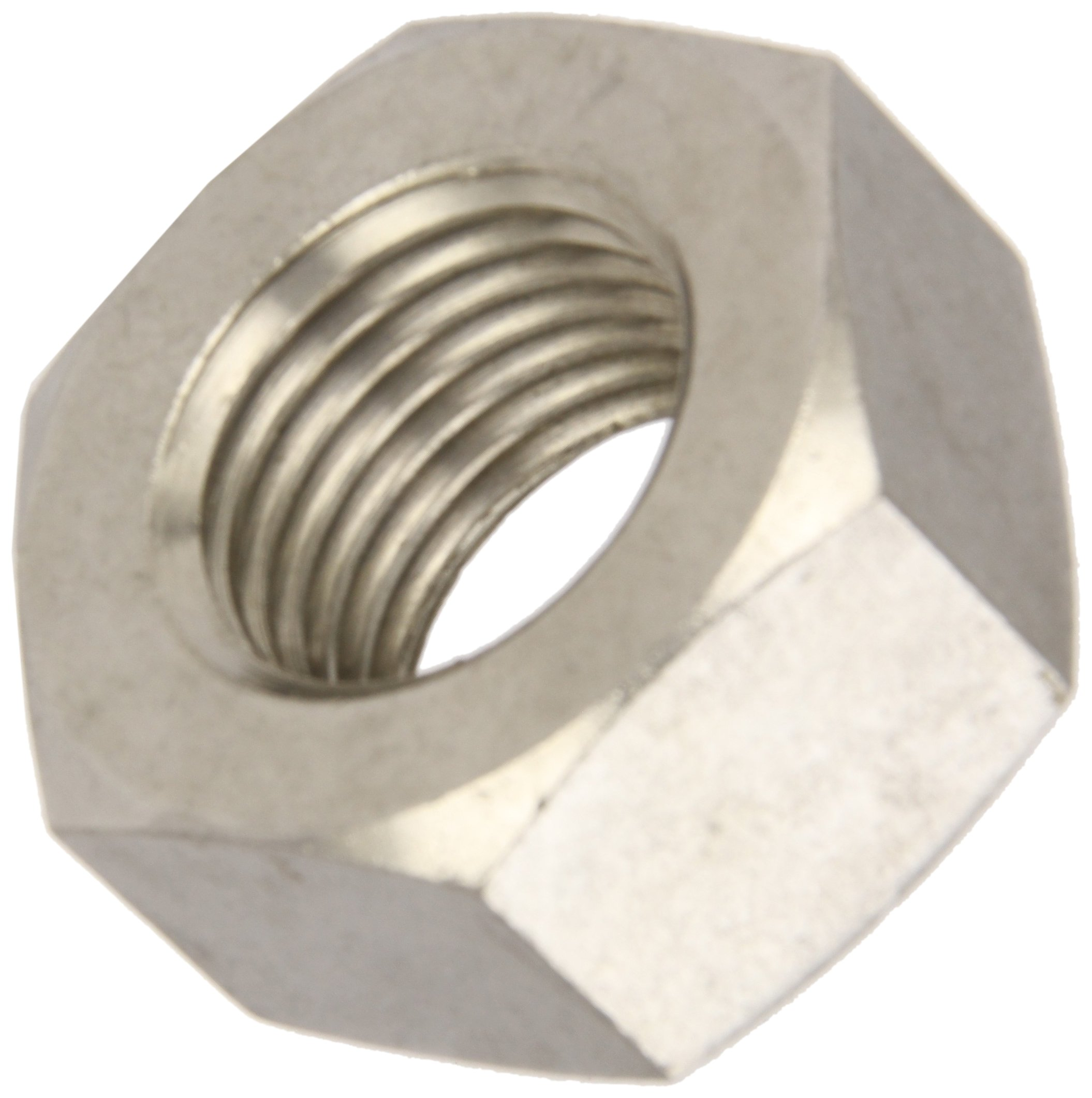 M4-0.7 Thread Size Metric Black Oxide Finish 3.2 mm Thick Pack of 100 7 mm Width Across Flats DIN 934 18-8 Stainless Steel Hex Nut