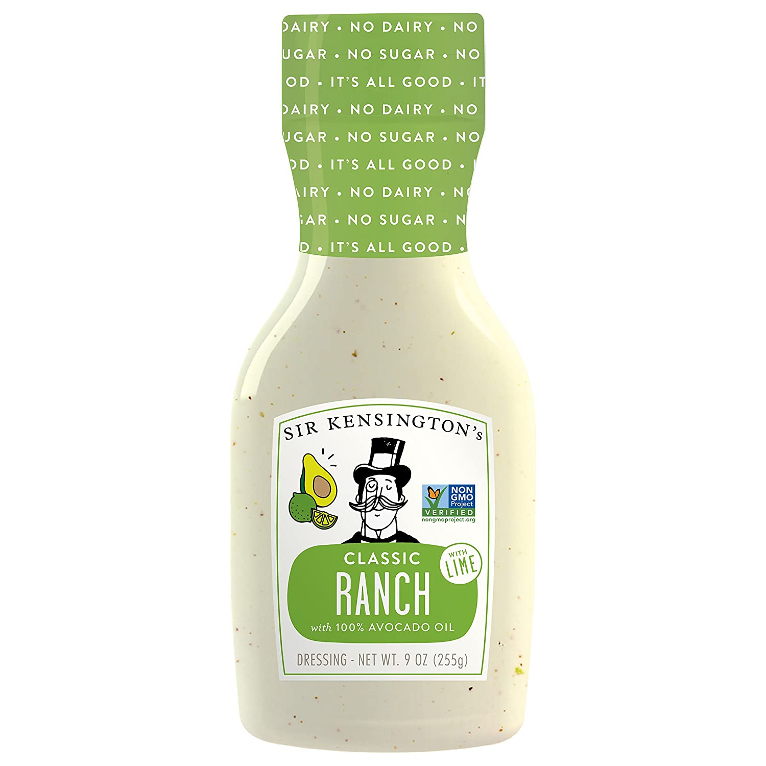 amazon com sir kensington s ranch avocado oil with lime 9 oz