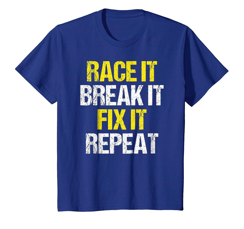 Funny Racing Tee Shirt for Race Car Fans