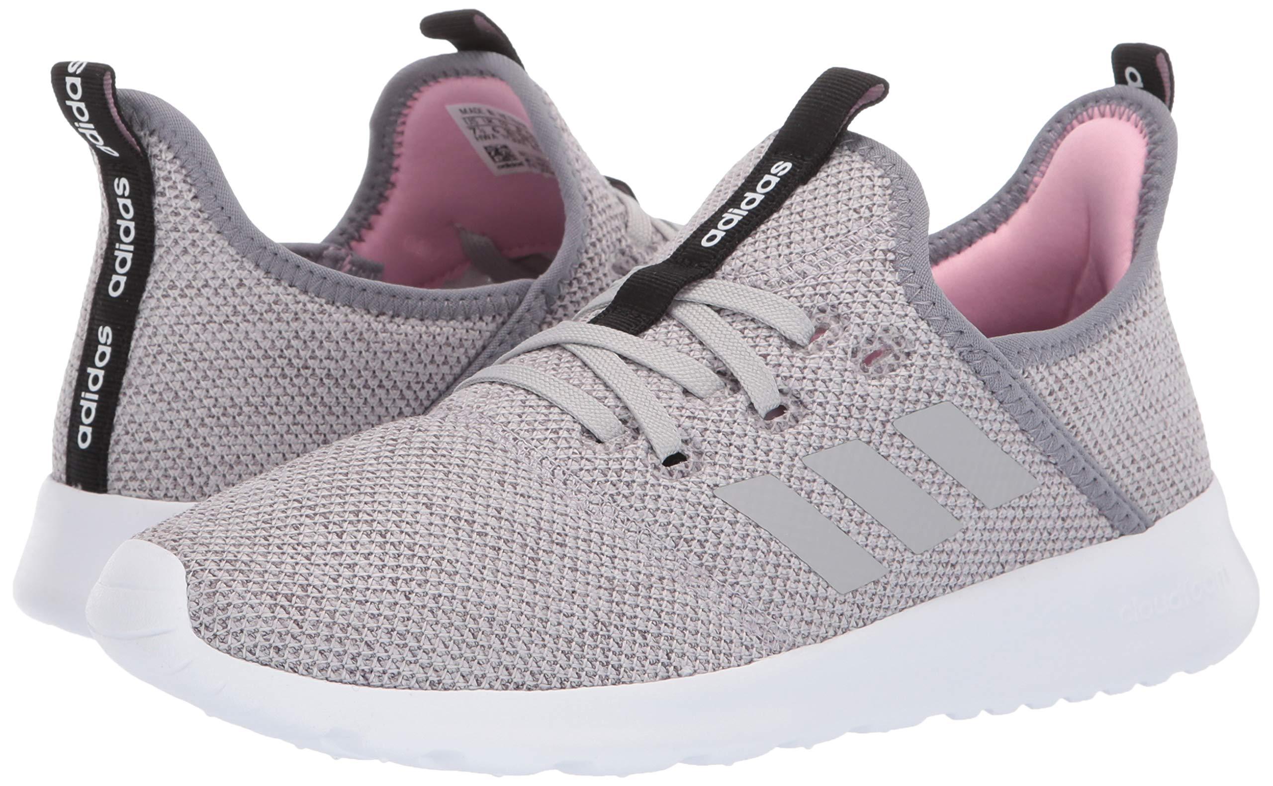 adidas Women's Cloudfoam Pure, Grey/True Pink, 5.5 M US by adidas (Image #6)