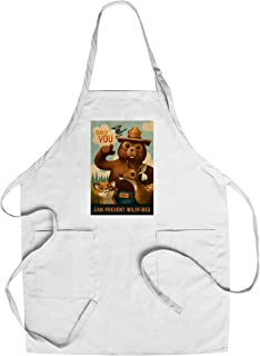 product image for Smokey Bear - Only You - Oil Painting (Cotton/Polyester Chef's Apron)