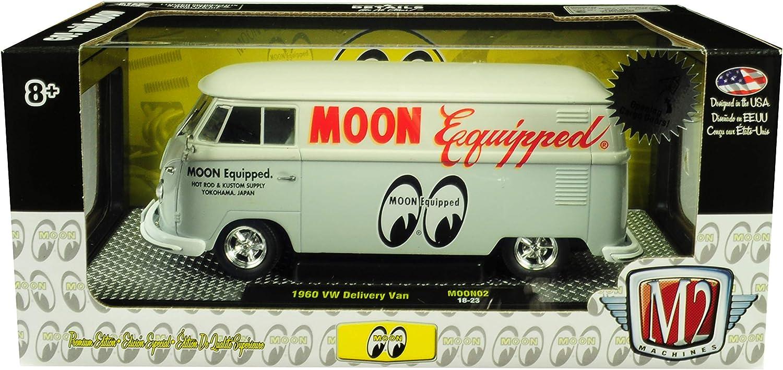 M2 40300-MOON02 A MOONEYES 1960 VW VOLKSWAGEN DELIVERY VAN 1//24 MOON EQUIPPED