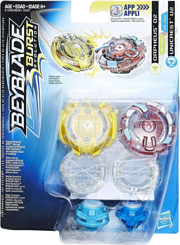 Beyblade Burst Evolution toupie Twin Pack-Surtr S2 /& ODAX O2