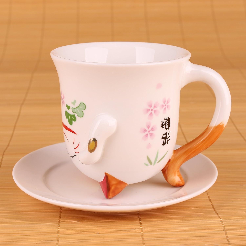 Goodwei 招财猫茶杯