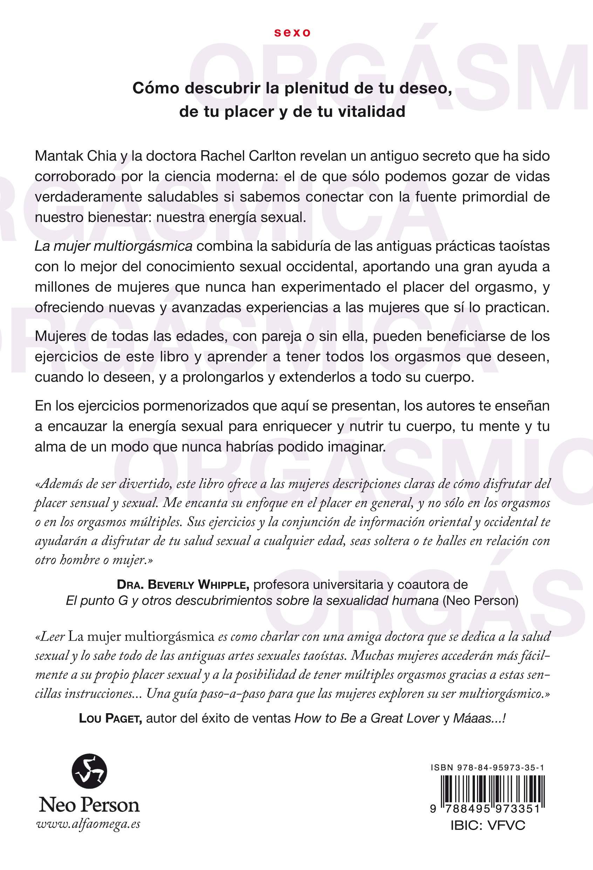 La Mujer Multiorgásmica: Cómo descubrir la plenitud de tu ...