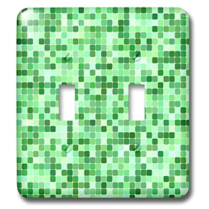 3drose David Zydd Square Backgrounds Green Color Square