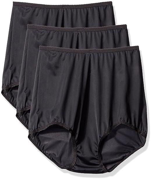 fe4b596c415 Shadowline Women s Panties-Seamless Nylon Brief (3 Pack) at Amazon Women s  Clothing store
