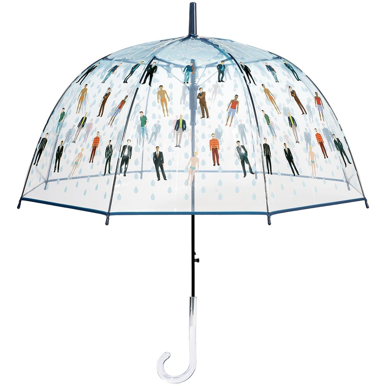 302bdd580 Amazon.com: Raining Men Clear Bubble Dome Umbrella - Perfect White Elephant  Gift, or Birthday Gift: Sports & Outdoors
