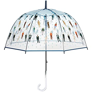 Regnerische Manner Klare Kuppel Regenschirm Lustiges Geschenk