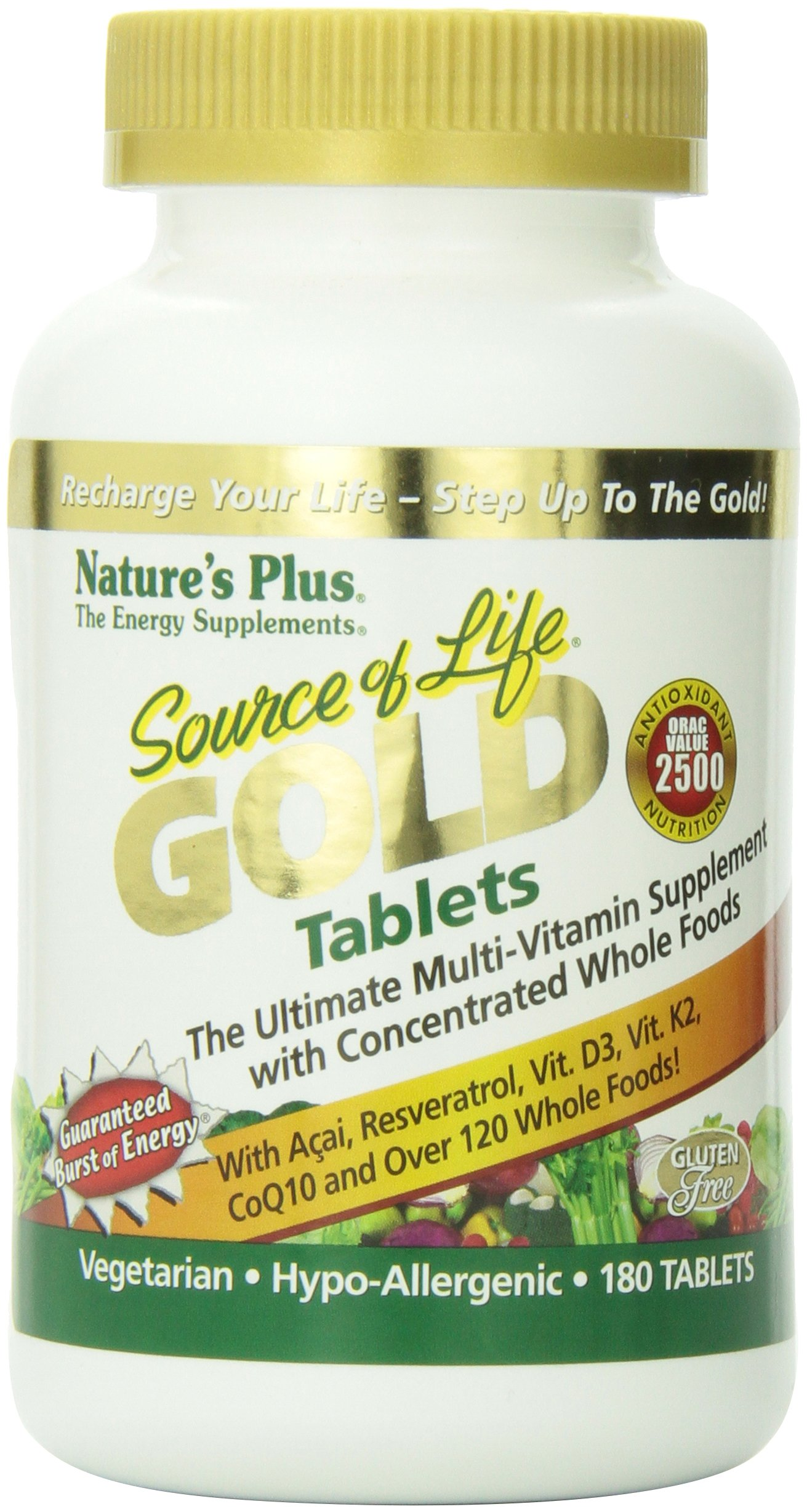 Source of Life GOLD Tablets, 180 count